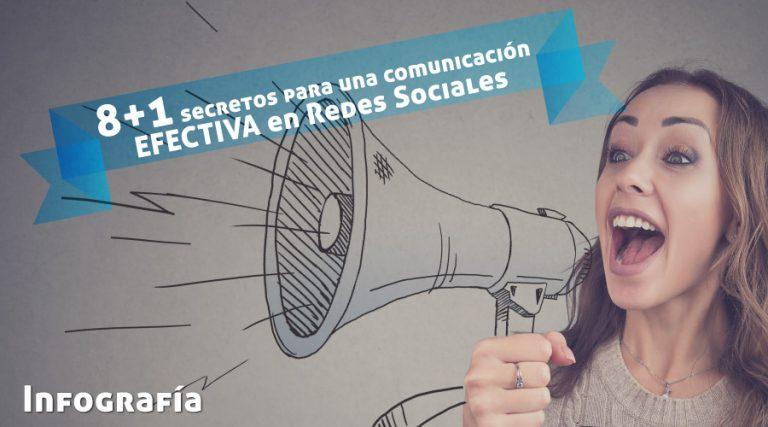 8+1 secretos para una comunicación efectiva en redes sociales